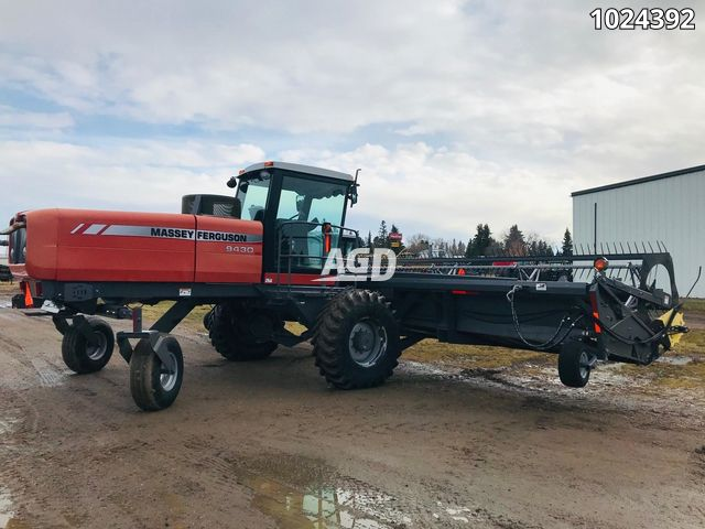Gallery image 1 for Used 2007 Massey Ferguson 9430 Windrower