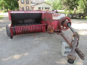 Image for article Used Massey Ferguson 124 Square Baler - Small
