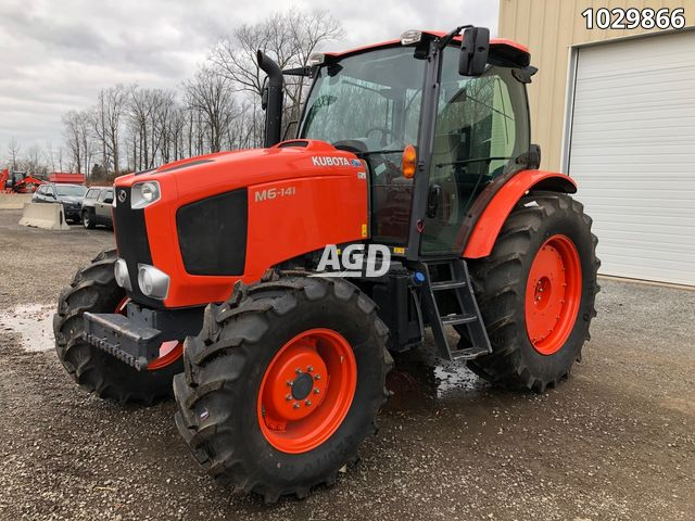 Image for Used 2018 Kubota M6-141DTCC-F Tractor
