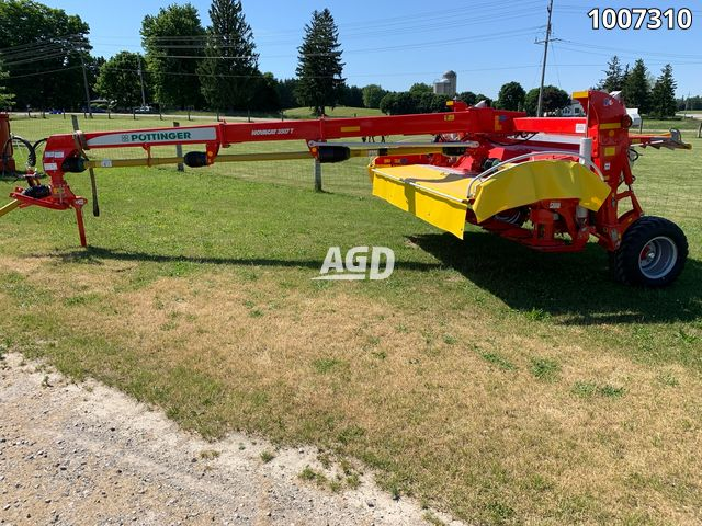 Gallery image 1 for New Pottinger Novacat 3507T Disc Mower Conditioner