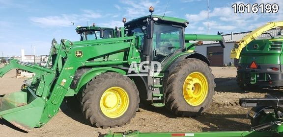 Gallery image 1 for Used 2018 John Deere 7250R Tractor
