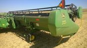 Image for article Used 2009 John Deere 635D Header Combine