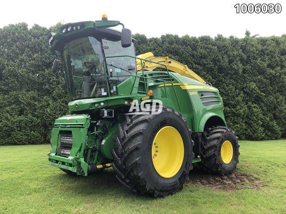 Gallery image 1 for Used 2018 John Deere 8400 Forage Harvester