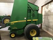 Image for article Used 2008 John Deere 568 Round Baler