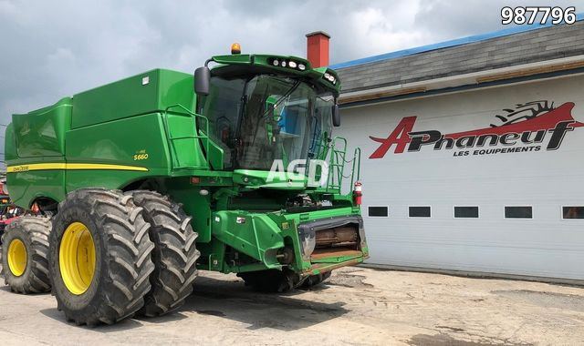 Gallery image 1 for Used 2012 John Deere S660 Combine