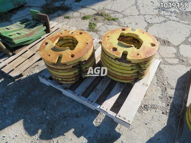 Gallery image 1 for Used 1970's John Deere rear wheel Weights