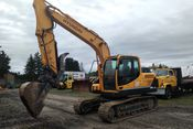 Image for article Used 2015 Hyundai Ind R140LC-9a Excavator