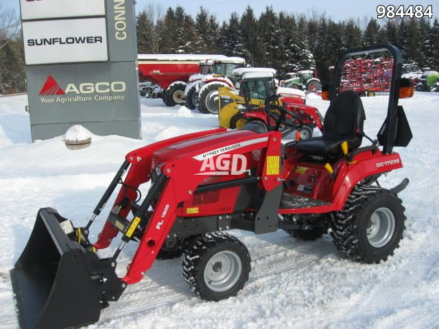 Gallery image 1 for New 2019 Massey Ferguson GC1723E Tractor