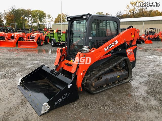 Image for Used 2018 Kubota SVL75-2HFWC Track Loader