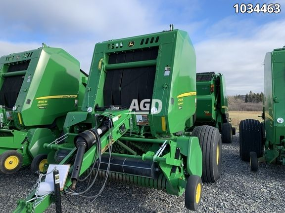 Gallery image 1 for Used 2019 John Deere 450M Round Baler