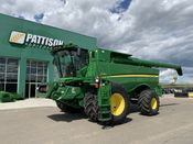 Image for article Used 2015 John Deere S680 Combine