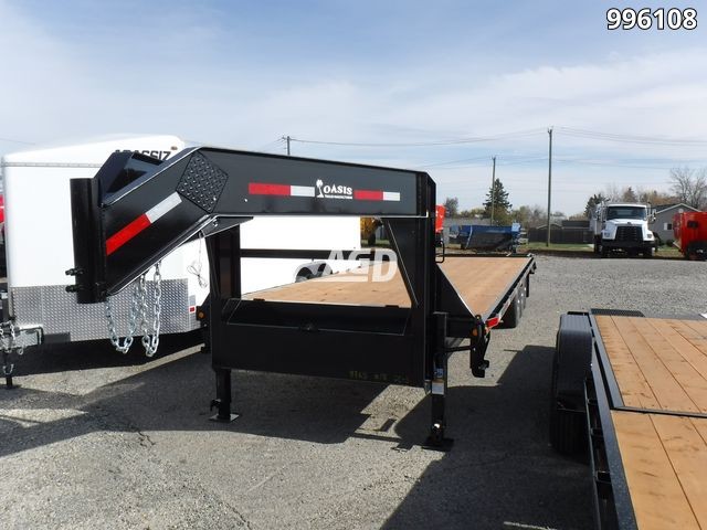 Image for New 2020 Oasis HBG30 Trailer - Flat Deck