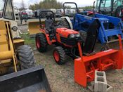 Image for article Used 2012 Kubota B7610 Tractor
