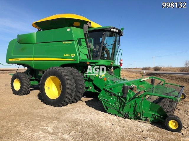 Gallery image 1 for Used 2008 John Deere 9670 STS Combine