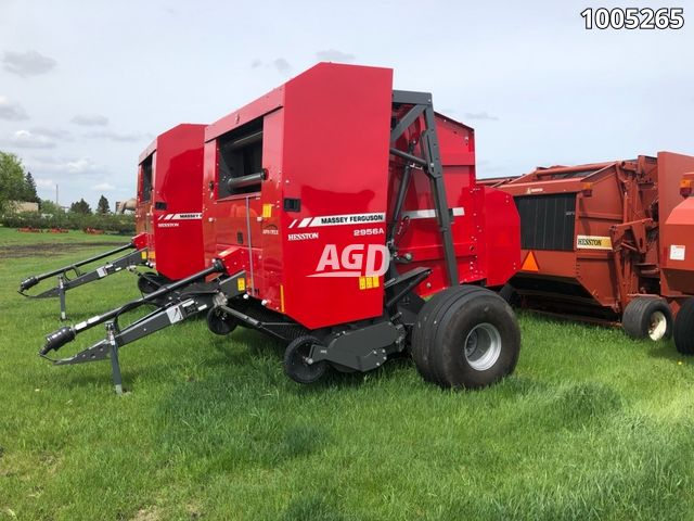Gallery image 1 for New 2019 Massey Ferguson 2956A Round Baler