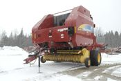 Image for article Used 2010 New Holland 7090 Round Baler