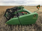 Image for article Used 2015 John Deere 640FD Header Combine