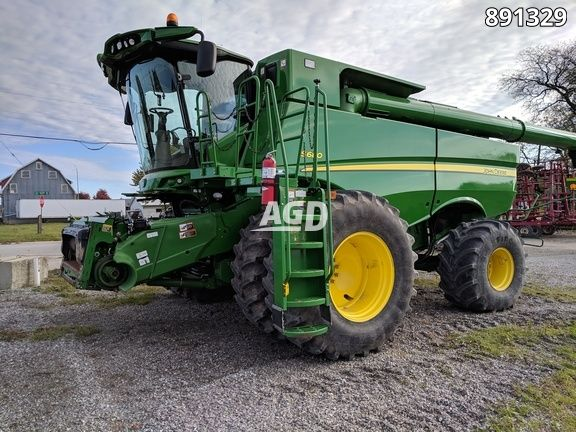 Image for Used 2012 John Deere S680 Combine