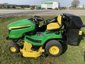 Image for article Used 2020 John Deere X384 Lawn Tractor