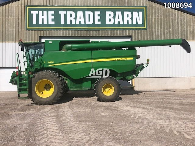 Gallery image 1 for Used 2012 John Deere S680 Combine