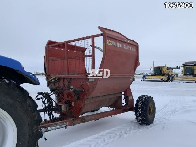 Image for Used 2016 Highline CFR650 Bale Processor