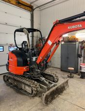Image for article Used 2017 Kubota KX 033-4 Excavator