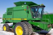 Image for article Used 1995 John Deere 9600+925F Combine