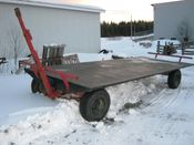 Image for article Used Normand 1370 Bale Wagon