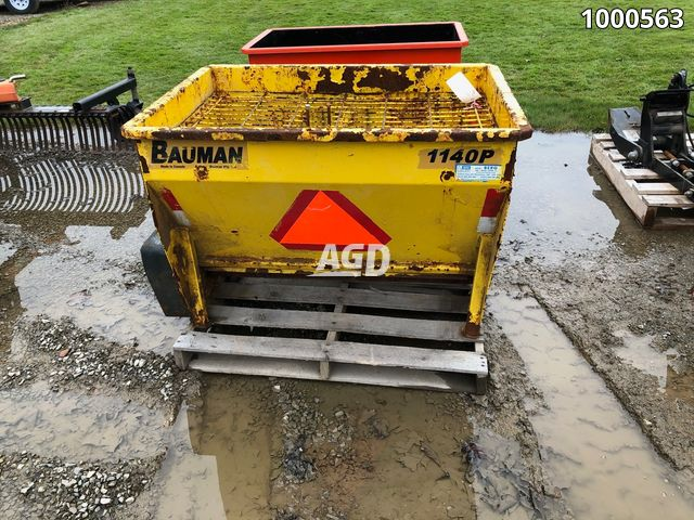 Image for Used Bauman 1140P Spreader - Salt & Sand