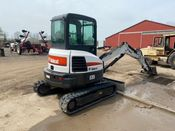 Image for article Used Bobcat E35 Excavator