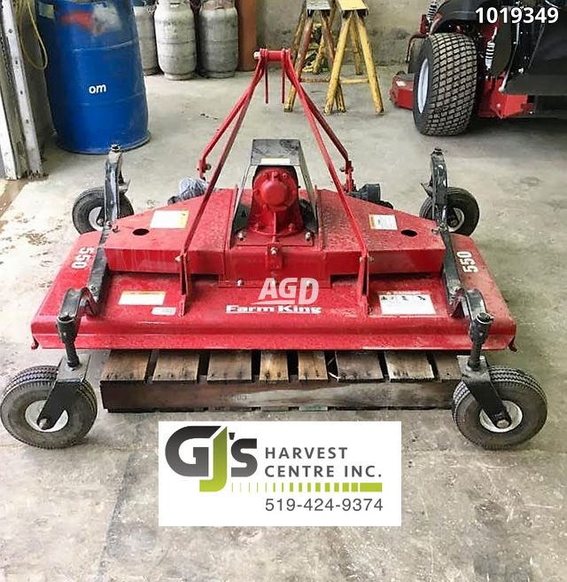Gallery image 1 for Used Farm King Y550 Mower - Finishing