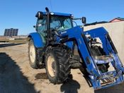 Image for article Used 2014 New Holland T6.165 Tractor