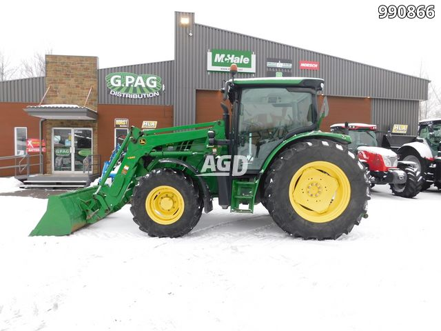 Gallery image 1 for Used 2012 John Deere 6115 R Tractor
