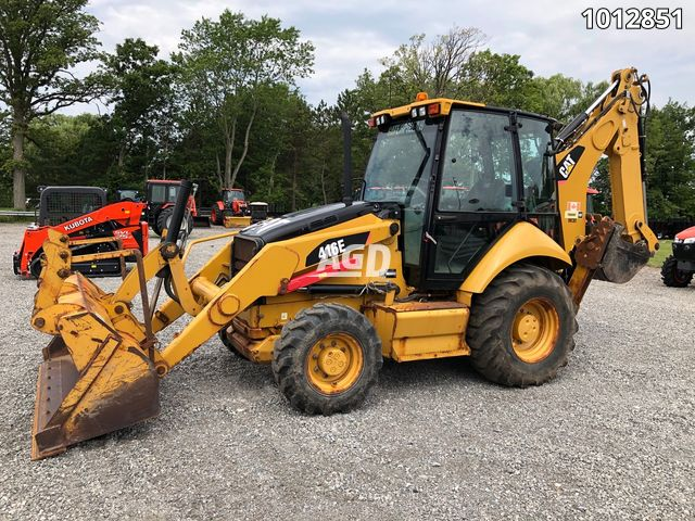 Image for Used 2011 Caterpillar 416E Loader - Backhoe
