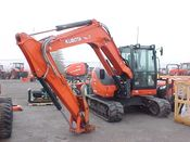 Image for article Used 2018 Kubota KX080-4S Excavator