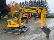 Image for article Used 1997 Komatsu PC-50UU Excavator