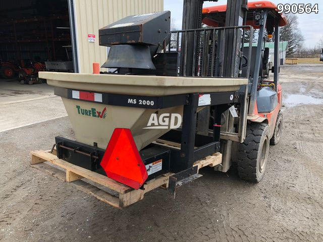 Image for Used TurfEx Turf Ex MS2000 Spreader - Salt & Sand