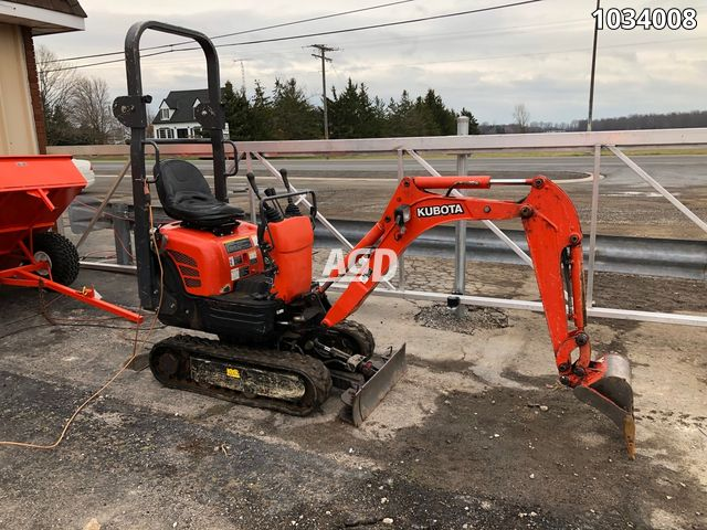 Image for Used 2013 Kubota K008-3 Excavator