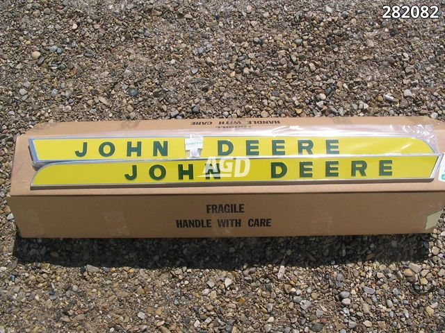 Gallery image 1 for New John Deere LICENSED PRODUCT Raised Letter Emblams Parts New-Used