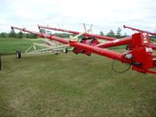 Image for article New Farm King Y1060TMR Grain Auger